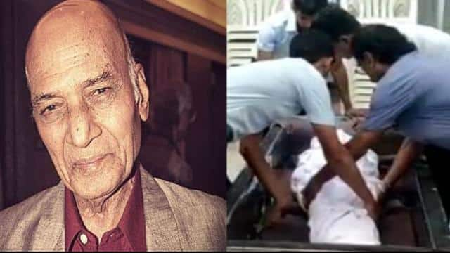 legendary music composer khayyam funeral ceremony being to start