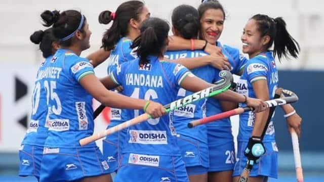 the indian women   s hockey team   twitter