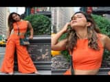 actress hina khan enjoying with boyfriend rocky jaiswal in new york