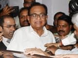 congress senior leader p chidambaram  arvind yadav ht photo