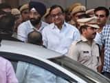 senior congress leader p  chidambaram sent on cbi remand till 26th august  ht photo by raj kraj