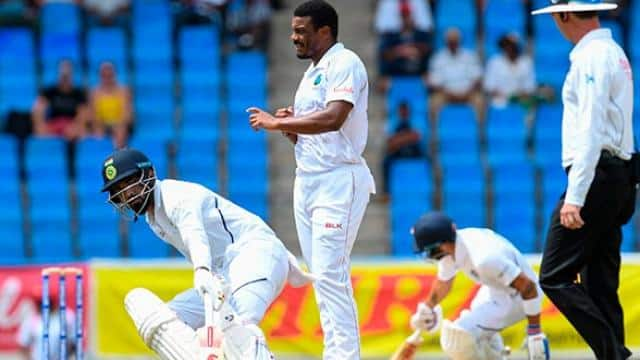 ind vs wi  rahane half-century anchors india revival in first test