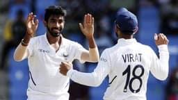 INDvsWI, 1st Test: जसप्रीत बुमराह ने पूरे किए 50 टेस्ट विकेट, रचा नया इतिहास