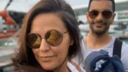 Honeymoon के बाद बर्थडे सेलिब्रेशन के लिए नेहा धूपिया और अंगद, बेटी महर संग पहुंचे Maldives