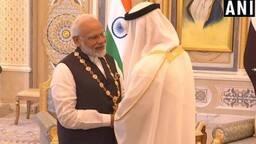 प्रधानमंत्री मोदी को यूएई ने दिया सर्वोच्च नागरिक सम्मान