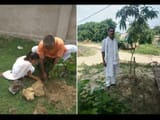 unique initiative  nine plants planting in lakhisarai district of bihar on birth of every daughter