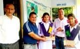 पचास मेधावी छात्र-छात्राओं को सम्मानित किया