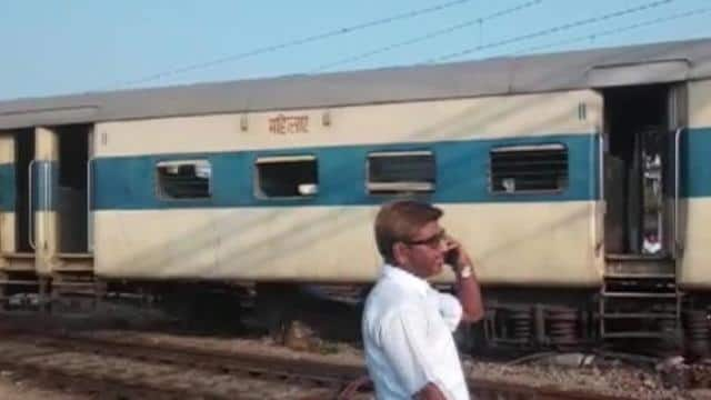 coaches of passenger train derails at kanpur railway station  no injuries reported