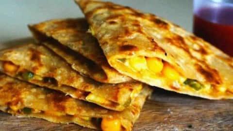 cheese corn paratha recipe-how to make paratha