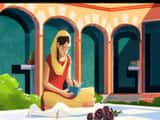 google makes doodle on amrita pritam s 100th birthday