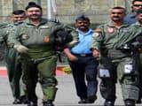 air chief bs dhanoa with wg commander abhinandan vardhman  ani pic