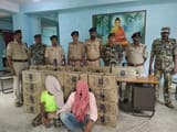 कांवरिया वाहन से शराब बरामद, चार गिरफ्तार
