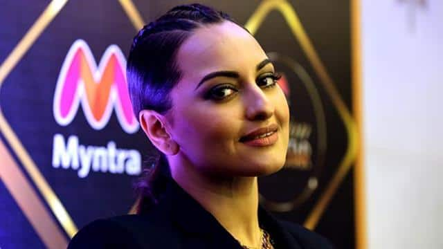 bollywood actress sonakshi sinha attends the launch of the fashion reality show