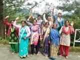 धारी दो के ग्रामीणों ने किया जल संस्थान प्रदर्शन