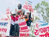 abvp wins three seats in dusu elections 2019