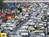 delhi traffic   vipin kumar ht photo