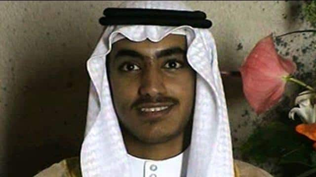 former al-qaeda chief osama bin laden s son hamza bin laden  file pic