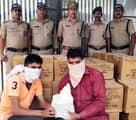 लंबगांव पुलिस ने पकड़ी 54 पेटी अवैध शराब