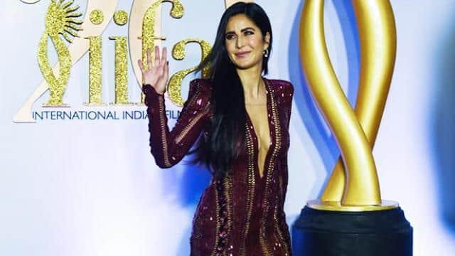 katrina kaif looks beautiful in gown in iifa 2019