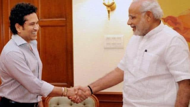 sachin tendulkar   pm   narendra modi  twitter