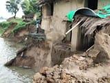 बाढ़ से दस गांव प्रभावित, बढ़ीं मुश्किलें