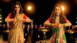 नवरात्रि से मां दुर्गा की भक्ति में डूबीं TMC सांसद नुसरत जहां और मिमी चक्रवर्ती, एक्ट्रेस का डांस वीडियो हुआ वायरल