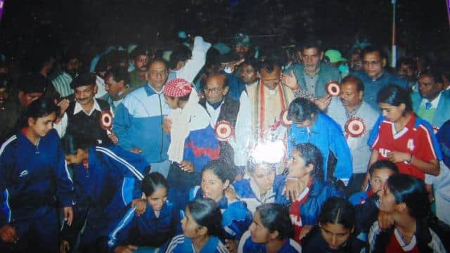daughters of lakhisarai were becoming national level female footballer but today just golden memorie
