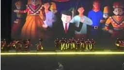 हाउडी मोदी: एनआरजी स्टेडियम में जश्न का माहौल, बज रहे हैं ढोल-नगाड़े