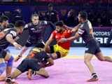 u mumba   s strong defence against gujarat fortunegiants  pkl