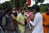 धारा 370 के व्याख्यान में समाजवादियों का खलल, जमकर हंगामा