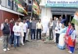 नई टिहरी में बाबा रामदेव के खिलाफ बरसे कांग्रेस कार्यकर्ता