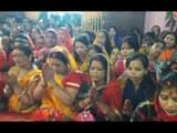 navratri 2019  worship of maa durga started after establishment of kalash in katihar