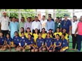 state level womens volleyball started in lakhisarai