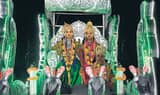 भव्यता के साथ निकला बाघंबरी का राम दल