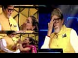 kbc 11 33rd today episode  amitabh bachchan shocked on contestants dr urmila dhatarwal flying kisses