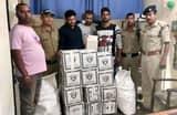 30 पेटी शराब के साथ तीन तस्कर गिरफ्तार