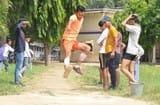 1500 मीटर की दौड़ में देवव्रत रहे अव्वल
