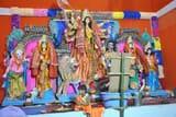 महागौरी की पूजा पर खोईंछा भरने वालों की उमड़ी भीड़