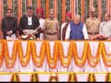 justice indrajit mahanty takes oath as chief justice of rajasthan high court on sunday  photo sourc
