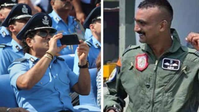 वायुसेना के हीरो के सामने झुके सचिन तेंदुलकर, कहा- 'आपको परेड की अगुवाई करते देख रोंगटे खड़े हो गए'- VIDEO