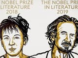 the swedish academy on thursday awarded two nobel prizes for literature  photo    twitter  nobelprize