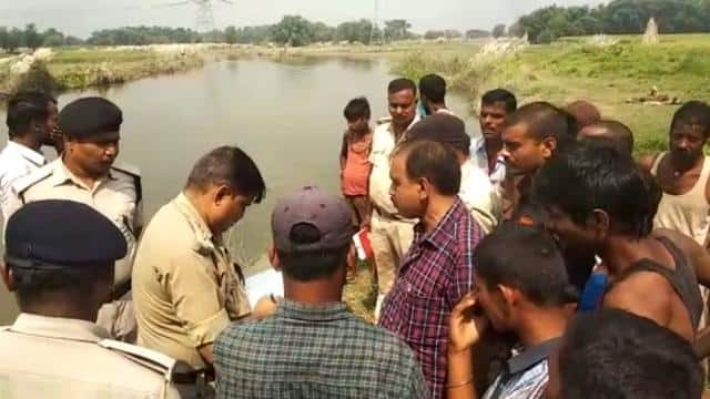 dead body of young man and young girl found locked in sack on bank of river in madhepura