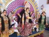 प्राण प्रतिष्ठा के साथ की मां महालक्ष्मी की पूजा