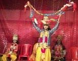 प्रभु राम ने तोड़ा शिव धनुष, सीता के गले में डाली वरमाला