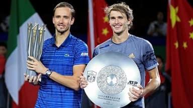 daniil medvedev thumps zverev to win shanghai masters title