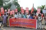 आर्थिक संकट और मंदी के विरोध में वाम दलों ने बिहार में निकाला राज्यव्यापी प्रतिरोध मार्च