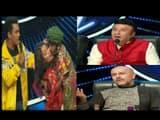 indian idol contestant kiss to neha kakkar cheek  aditya narayan vishal dadlani anu malik