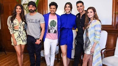 housefull 4 starcast on movie promotion