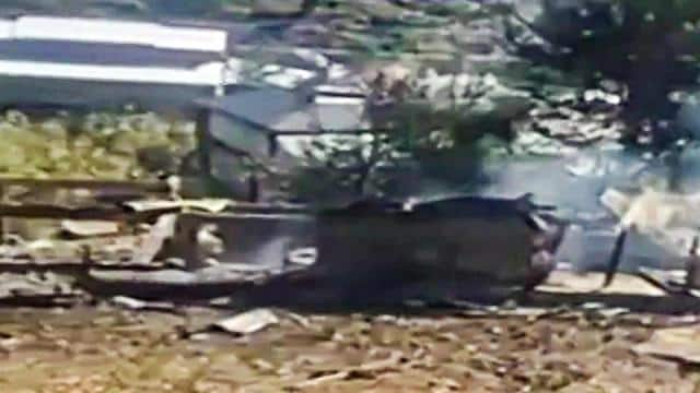 in a counter-offensive after pakistan s unprovoked firing  the indian army carried out heavy artille
