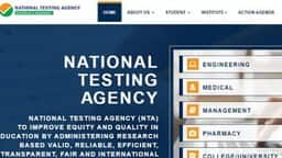 nta is preparing examination management system for organising jee main neet and ugc net exam